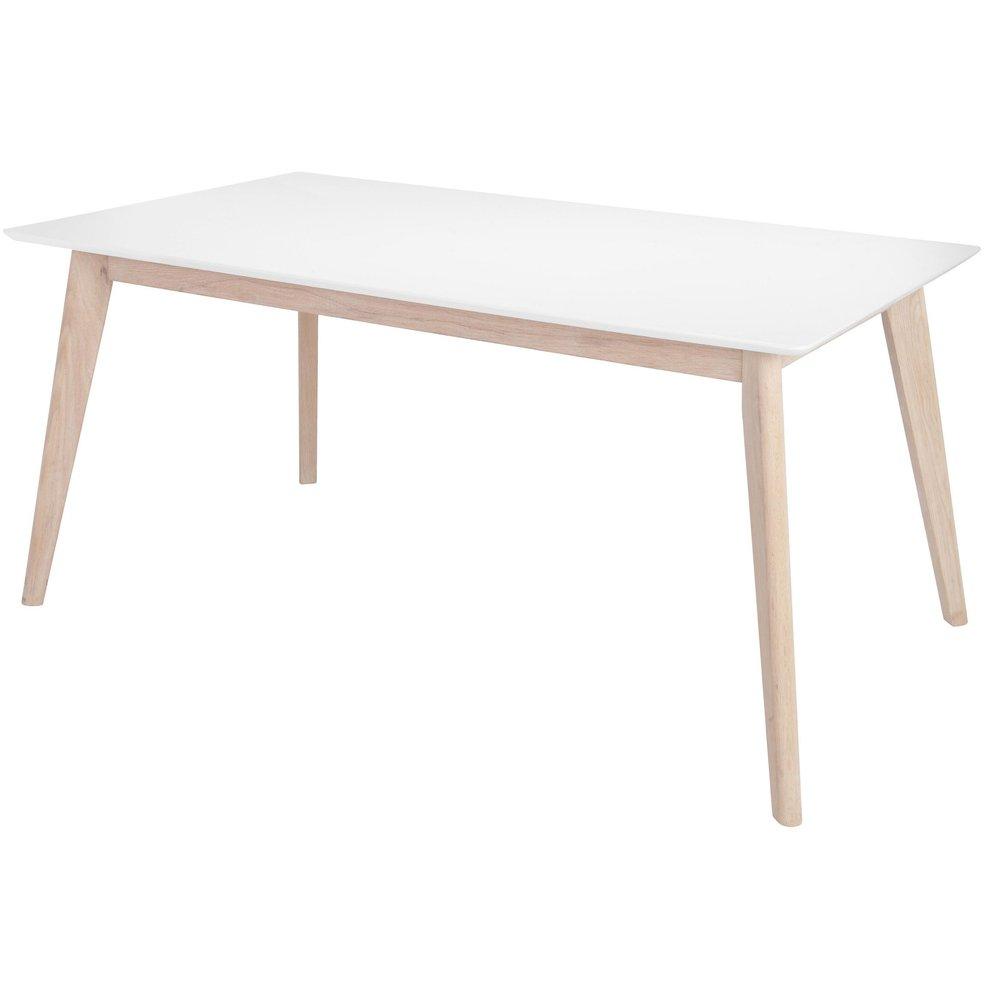 Century spisebord 160 cm hvitLys eik 2695 NOK Trendrom.no